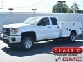 GMC Sierra 2500HD Double Cab 4WD Utility Summit White photo #1