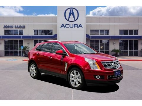 Crystal Red Tintcoat 2013 Cadillac SRX Premium FWD