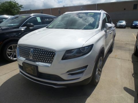 White Platinum 2019 Lincoln MKC Reserve AWD
