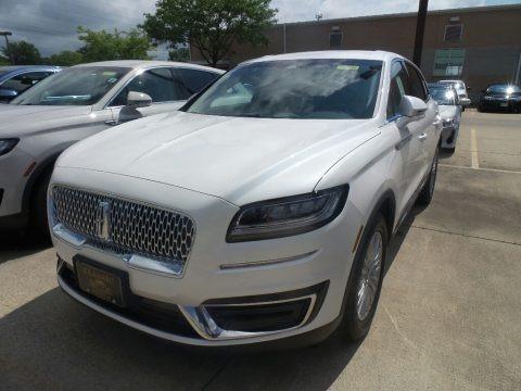 White Platinum 2019 Lincoln Nautilus FWD