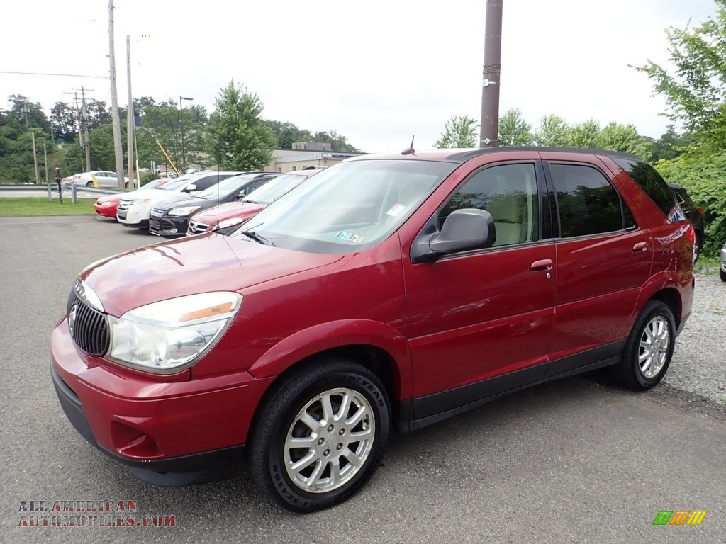 Cardinal Red Metallic / Neutral Buick Rendezvous CX AWD