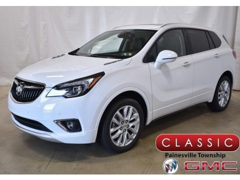 Summit White 2019 Buick Envision Premium AWD
