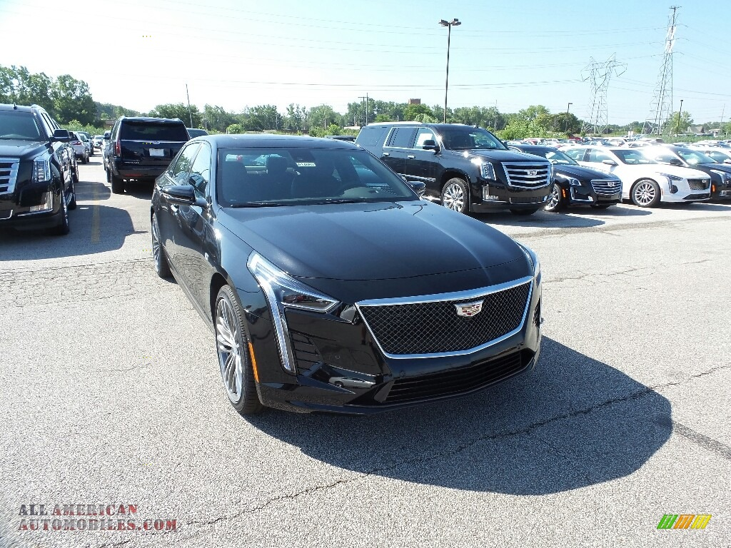 2019 CT6 Sport AWD - Black Raven / Dark Auburn/Jet Black photo #1