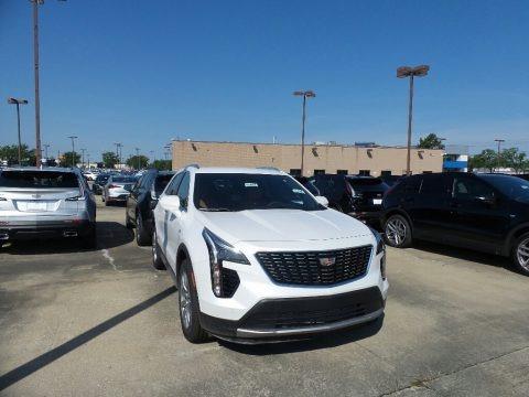 Crystal White Tricoat 2019 Cadillac XT4 Premium Luxury AWD