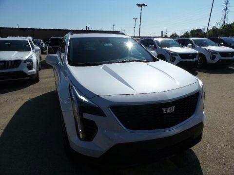 Crystal White Tricoat 2019 Cadillac XT4 Sport AWD