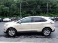Ford Edge SEL AWD White Gold Metallic photo #6