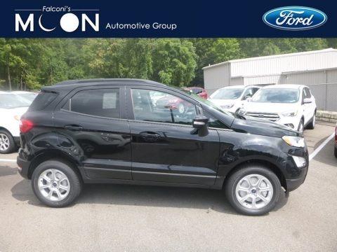 Shadow Black 2019 Ford EcoSport SE 4WD