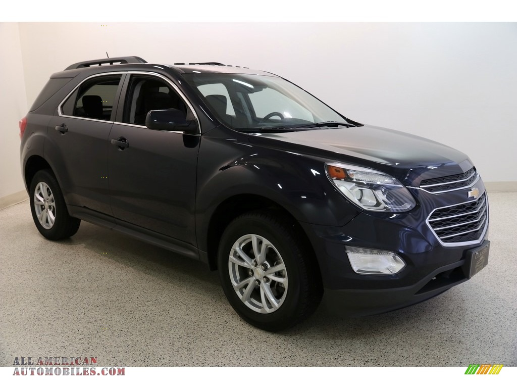 2016 Equinox LT AWD - Blue Velvet Metallic / Jet Black photo #1