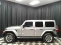 Jeep Wrangler Unlimited Sahara 4x4 Billet Silver Metallic photo #1