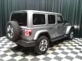 Jeep Wrangler Unlimited Sahara 4x4 Billet Silver Metallic photo #6
