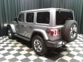 Jeep Wrangler Unlimited Sahara 4x4 Billet Silver Metallic photo #8