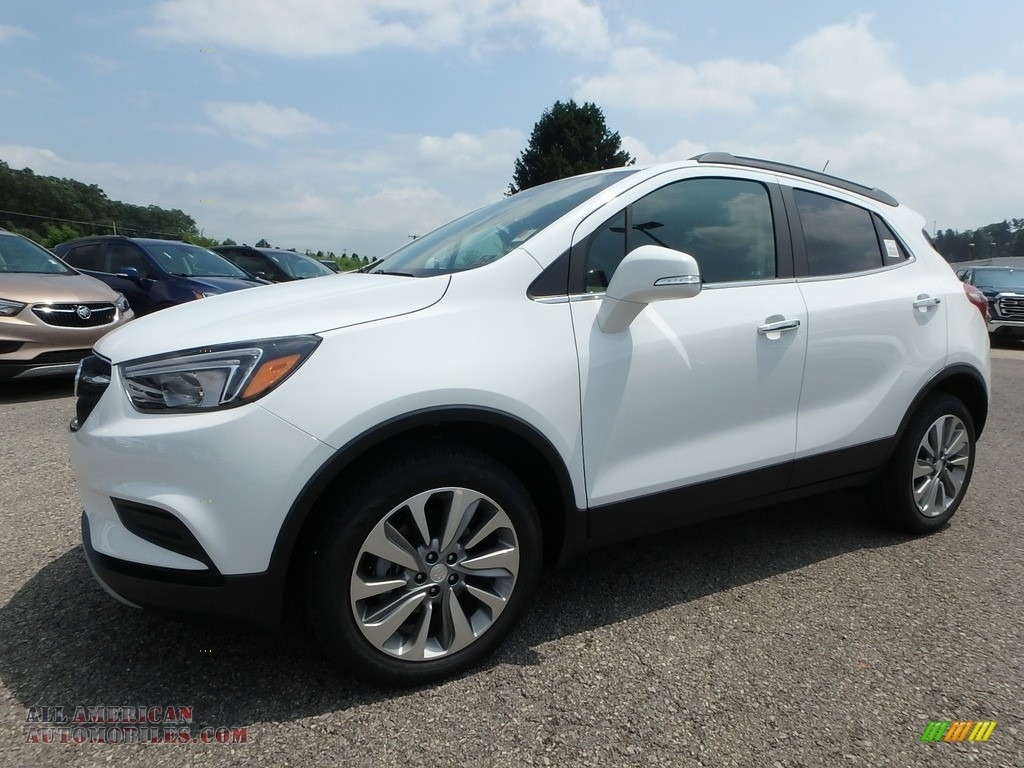 2019 Encore Preferred AWD - Summit White / Ebony photo #1