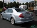 Ford Fusion Hybrid Light Ice Blue Metallic photo #3