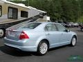 Ford Fusion Hybrid Light Ice Blue Metallic photo #5
