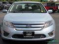 Ford Fusion Hybrid Light Ice Blue Metallic photo #8