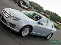 Ford Fusion Hybrid Light Ice Blue Metallic photo #30