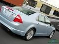 Ford Fusion Hybrid Light Ice Blue Metallic photo #32