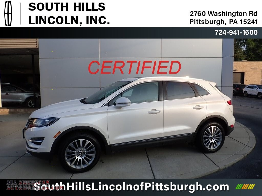 White Platinum / Ebony Lincoln MKC Reserve AWD
