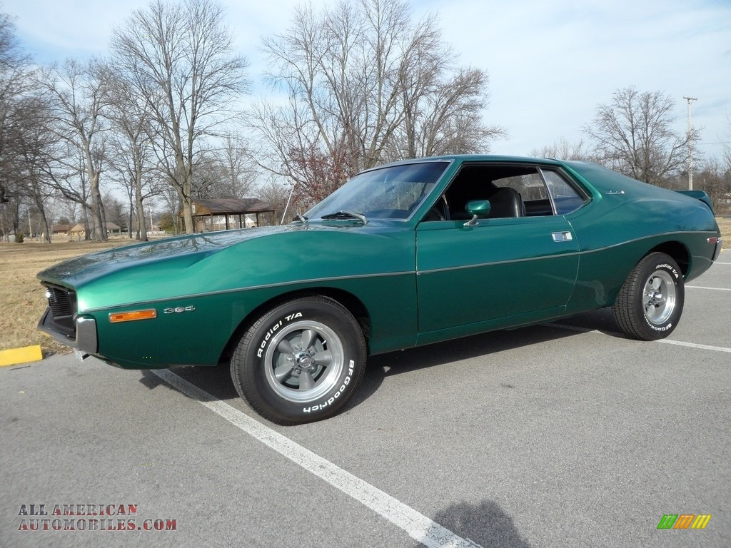 1971 Javelin SST - Brillant Green Poly / Black photo #1