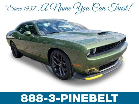 F8 Green 2019 Dodge Challenger R/T