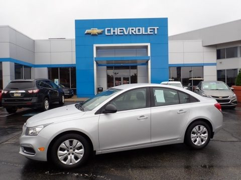 Silver Ice Metallic 2016 Chevrolet Cruze Limited LS