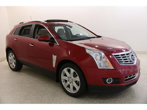 Crystal Red Tintcoat 2015 Cadillac SRX Performance AWD