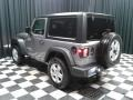 Jeep Wrangler Sport 4x4 Billet Silver Metallic photo #8
