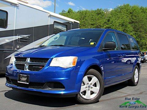 Blue Streak Pearl 2013 Dodge Grand Caravan SE
