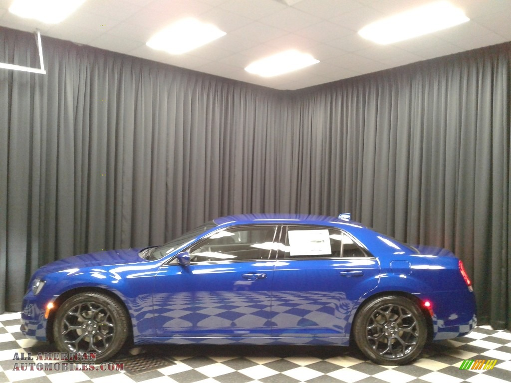 Ocean Blue Metallic / Black Chrysler 300 S