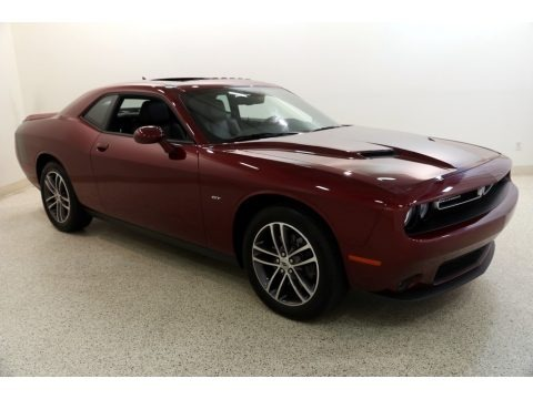 Octane Red Pearl 2018 Dodge Challenger GT AWD