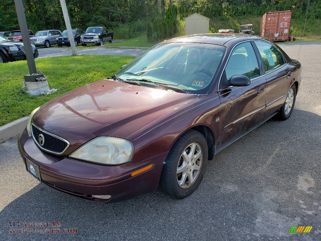 Toreador Red Metallic / Medium Parchment Mercury Sable LS Premium Sedan