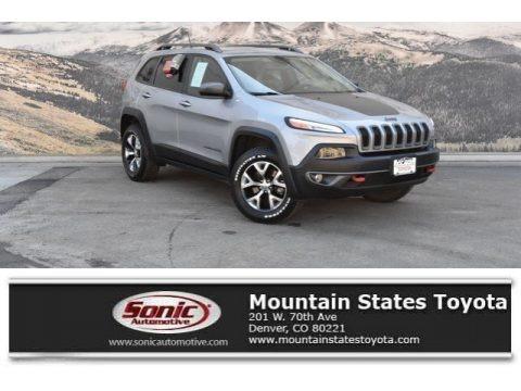 Billet Silver Metallic 2015 Jeep Cherokee Trailhawk 4x4