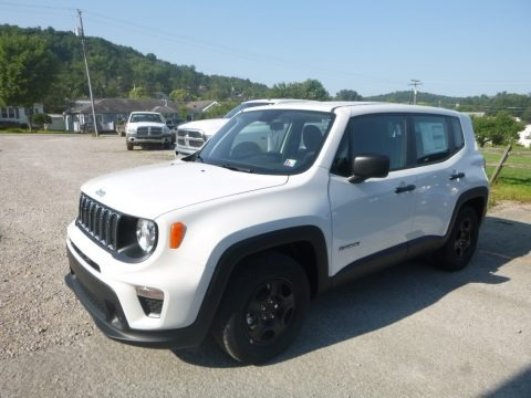 Alpine White 2019 Jeep Renegade Sport