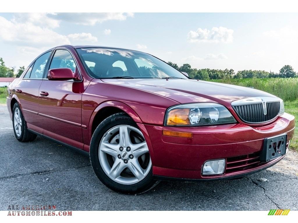 2002 LS V8 - Autumn Red Metallic / Light Graphite photo #1