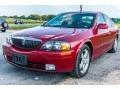 Lincoln LS V8 Autumn Red Metallic photo #9