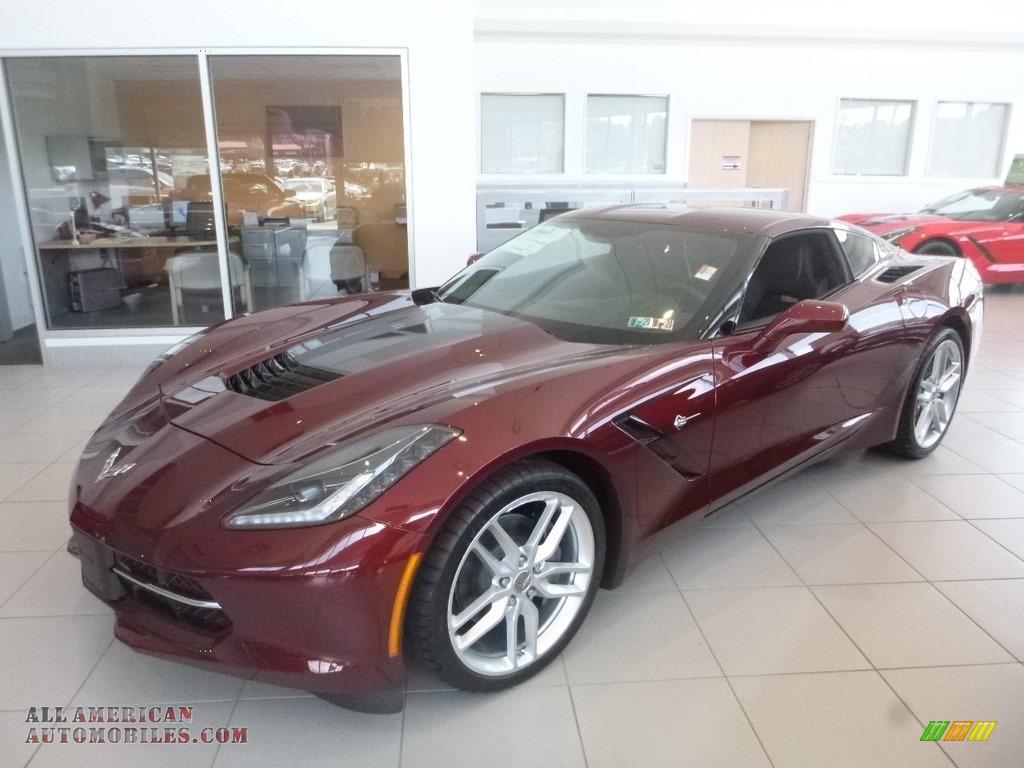 2019 Corvette Stingray Coupe - Long Beach Red Tintcoat / Black photo #1