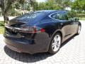 Tesla Model S P85 Performance Blue Metallic photo #9