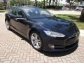Tesla Model S P85 Performance Blue Metallic photo #64
