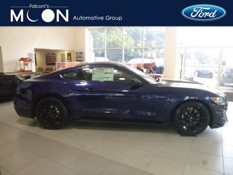 Kona Blue 2019 Ford Mustang Shelby GT350