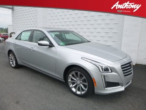 Radiant Silver Metallic 2019 Cadillac CTS Luxury AWD