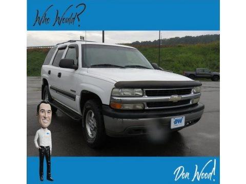 Summit White 2001 Chevrolet Tahoe LS 4x4