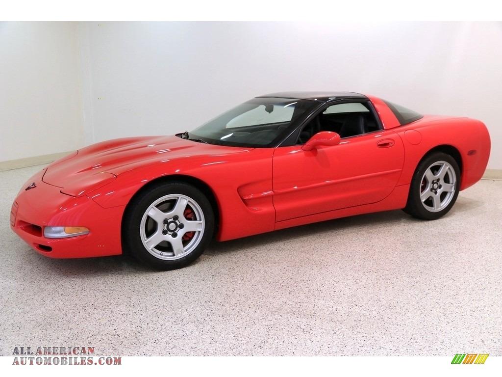 1998 Corvette Coupe - Torch Red / Black photo #3