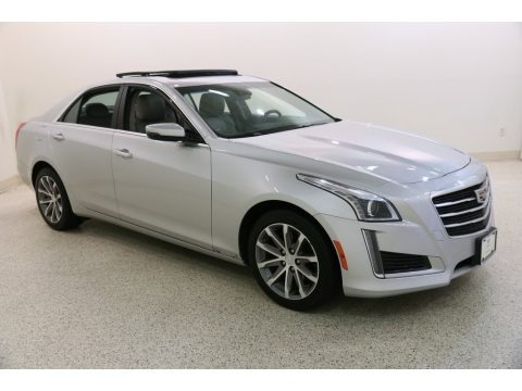 Radiant Silver Metallic 2016 Cadillac CTS 2.0T Luxury AWD Sedan
