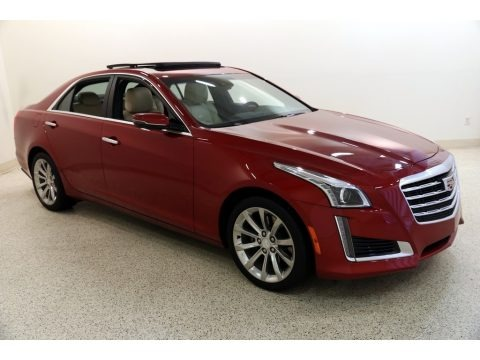 Red Obsession Tintcoat 2019 Cadillac CTS Luxury AWD
