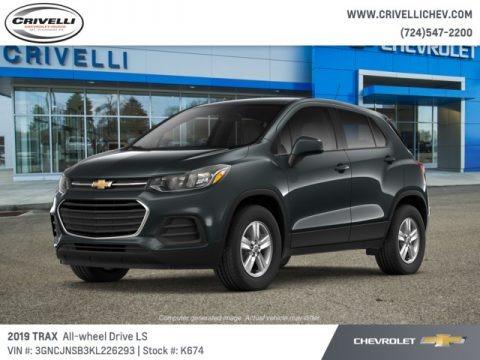 Nightfall Gray Metallic 2019 Chevrolet Trax LS AWD