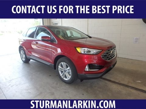 Ruby Red 2019 Ford Edge SEL AWD