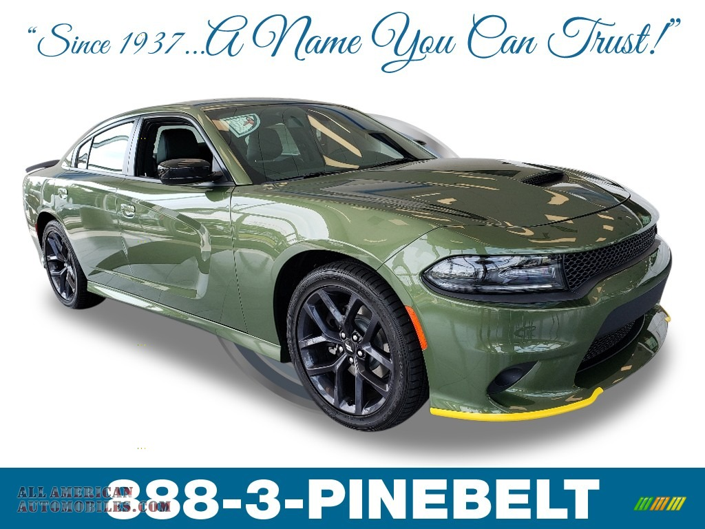 2019 Charger GT - F8 Green / Black photo #1