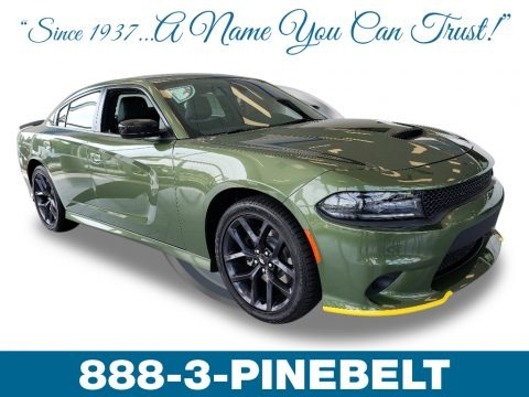 F8 Green 2019 Dodge Charger GT