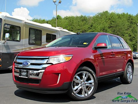Ruby Red 2013 Ford Edge SEL AWD