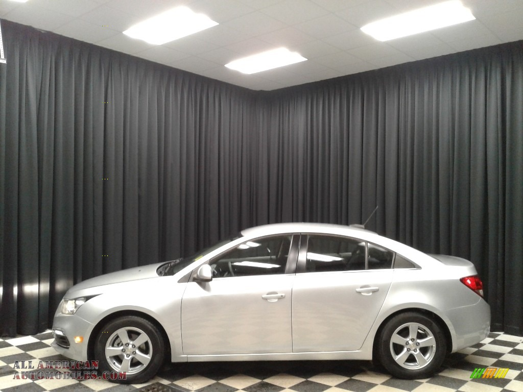 2016 Cruze Limited LT - Silver Ice Metallic / Jet Black photo #1